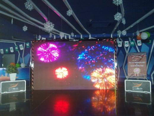 Năm nay Hà Nội sẽ tiến hành trình diễn pháo hoa trên màn hình LED. (Ảnh minh họa: Internet)