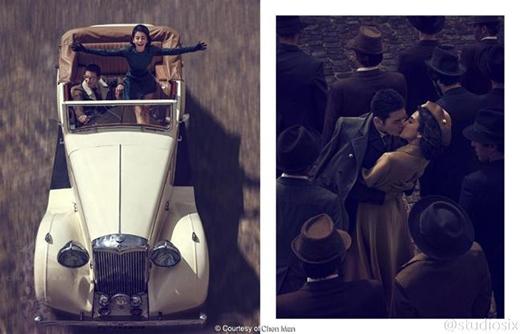 Được biết, để thực hiện bộ ảnh này, cặp đôi đã nhờ đến nhiếp ảnh gia chuyên nghiệp và nổi tiếng hàng đầu Trung Quốc - Chen Man.