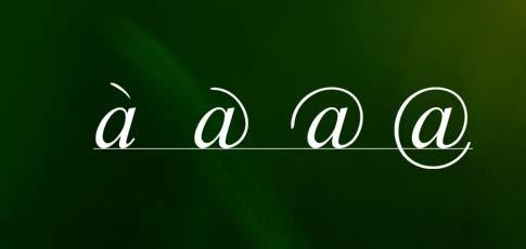 """@ đầu tiên dùng để viết tắt cho chữ """"at"""". (Ảnh: internet)"""