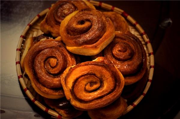 Người Thụy Điển gọi@ là kanelbulle có nghĩa là bánh mì cuộn nướng. (Ảnh: internet)