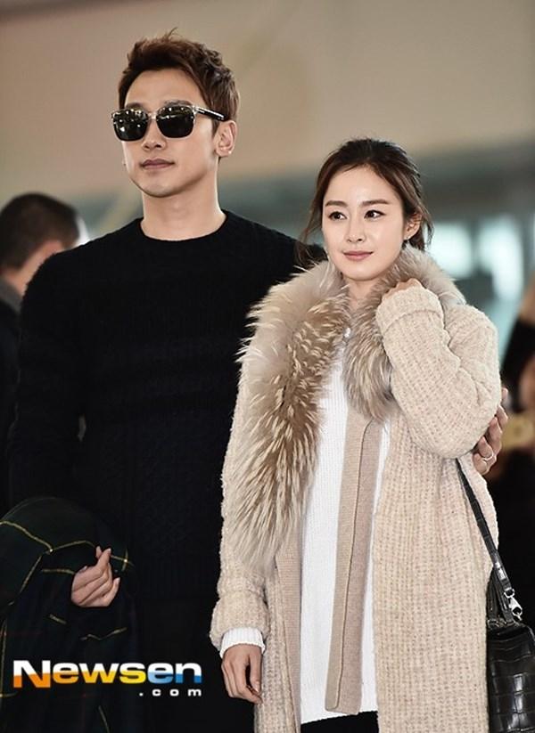 Bi Rain và Kim Tae Hee vừa tổ chức hôn lễ vào ngày 19/01.