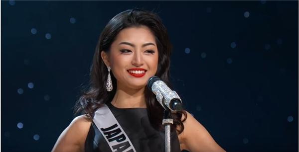 Hoa hậu Nhật Bản, một ứng cử viên tiềm năng của châu Á. Tuy nhiên, việc cô gái này có lọt top 12 chung cuộc hay không vẫn rất khó trả lời.