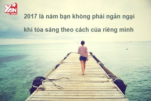 Để năm 2017 tỏa sáng, đừng cố gắng làm vừa lòng cả thế giới này!