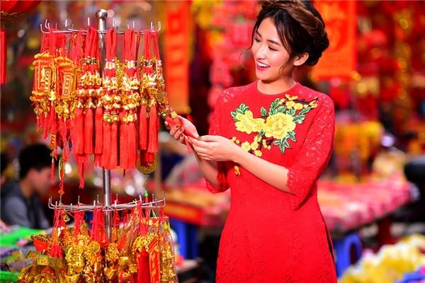 Chán gợi cảm, DJ Trang Moon hóa nàng công chúa mùa xuân đón Tết