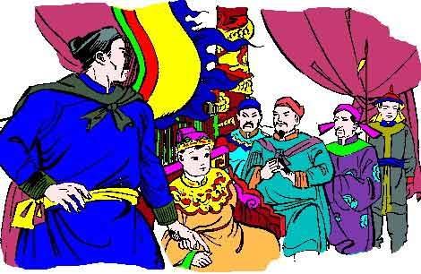 Mỗi tháng nhà vua đi ba lần, mỗi lần cách nhau 9 ngày. (Ảnh minh họa - Nguồn: Internet)