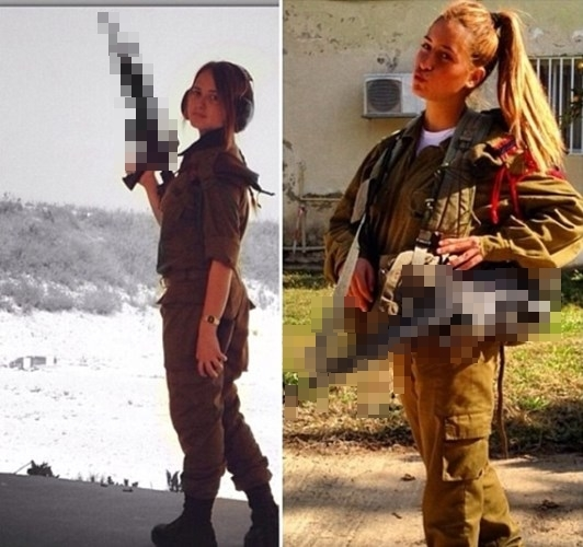 Vẻ đẹp không cần son phấn của nữ binh sĩ Israel đốn tim cư dân mạng