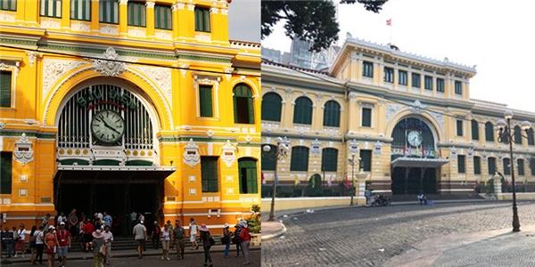 Bưu điện thành phố cũng được nghỉ ngơi sau một năm làm việc vất vả.(Ảnh: Internet)