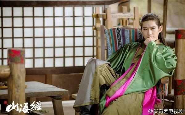 Trương Hàngây ấn tượng với vai diễnTâm Nguyệt Hồ trong Sơn hải kinh - truyền thuyết xích ảnh.