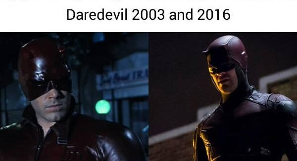 Hình như mọi người bỏ quên Daredevil rồi phải không? Anh ấy chỉ được mỗi bộ trang phục... bớt bóng hơn ngày xưa thôi sao?