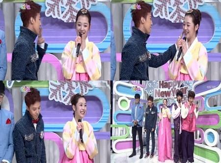 G-Dragon từng khen Sulli đáng yêu trong quá khứ và trao nụ hôn bằng ngón tay cho cô nàng trên sân khấu chương trình Inkigayo.