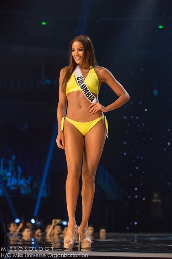 Hoa hậu Colombia Andrea Tovar