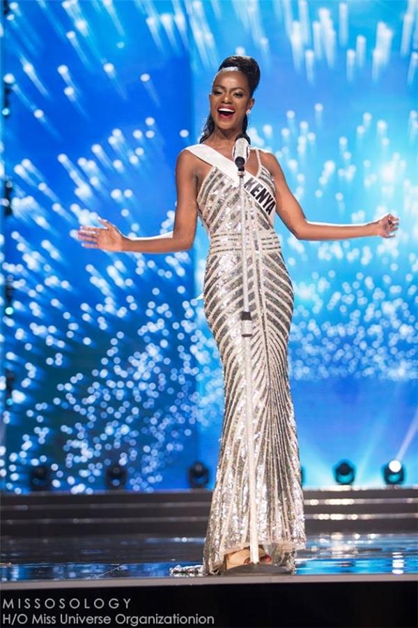 Hoa hậu Kenya Mary Esther