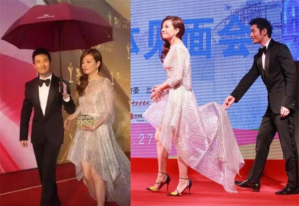 Đầu năm mới, Huỳnh Hiểu Minh lại thổ lộ với Triệu Vy trên truyền hình