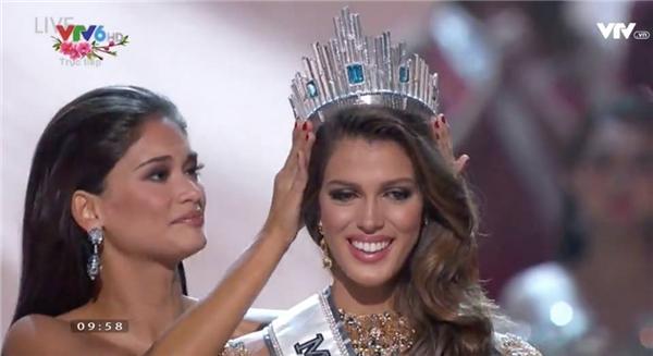 Người đẹp Pháp Iris Mittenaere đăng quang Hoa hậu Hoàn vũ 2016