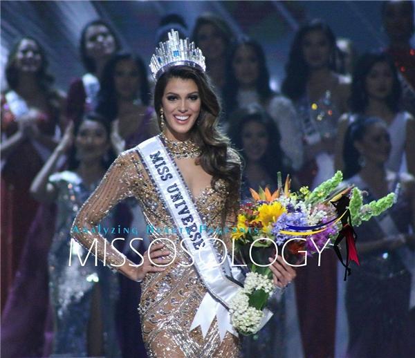 Hoa hậu Pháp khiến nhiều người bất ngờ khi đăng quang danh hiệu cao nhất.