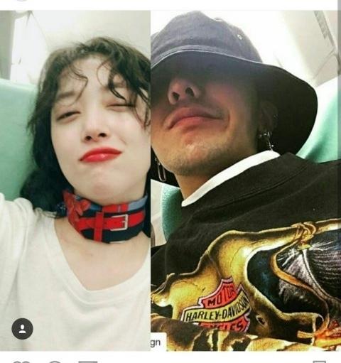 Bị đồn hẹn hò G Dragon, Sulli vô tư diện váy xuyên thấu đầu năm mới