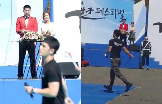 """Fan của nhóm nhạc huyền thoại DBSK sẽ không bao giờ quên khoảnh khắc ngày 2/10/2016 khi hai mảnh ghép là Yunho (DBSK) và Jaejoong (JYJ) khi chính thức tái hợp trên cùng một sân khấu của sự kiện thường niên """"Ground Forces Festival""""."""