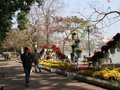 Thủ đô Hà Nội sẽ tạnh ráo trong hai ngày mùng 4, mùng 5 Tết.