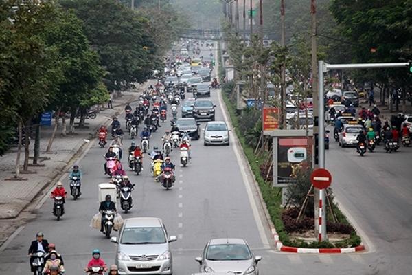 Hà Nội: Ngỡ ngàng tình trạng giao thông trong ngày khai xuân 2017