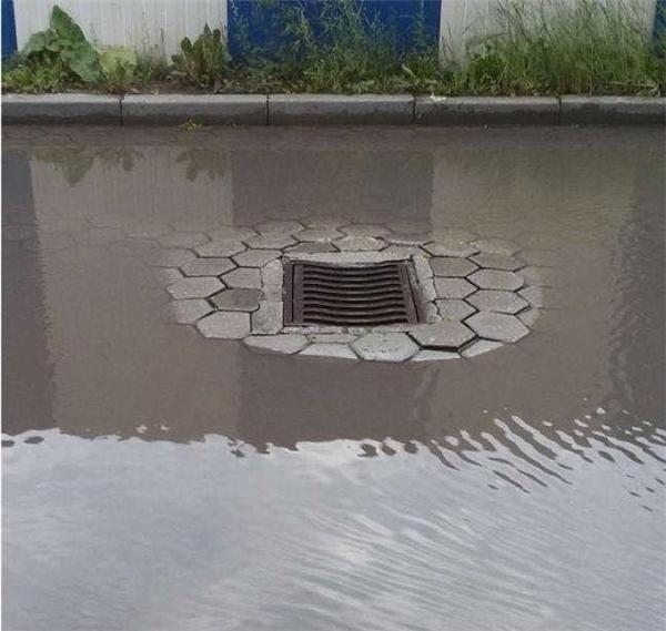 Đây được gọi là cống thoát nước... trên cao (Ảnh: Internet)