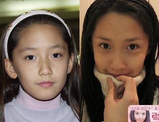 Khi lớn hơn một chút, người ta tin rằng cô chắc chắn sẽ trở thành một trong những người đẹp nhất xứ kim chi.