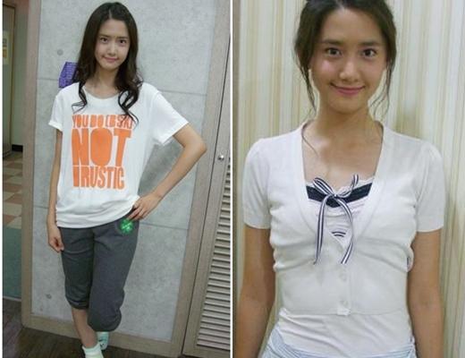 Trước khi chính thức là thành viên của nhóm nhạc quyền lực nhất nhì Kpop hiện nay, Yoon Ahtừng là cô gái đơn giản và đáng yêu như thế này đây.