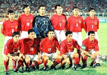 Đội tuyển Việt Nam cuối những năm 90.