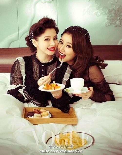 Lâm Tâm Như vô cùng quyến rũ, cuốn hút trên tạp chí Vouge vừa được xuất bản.