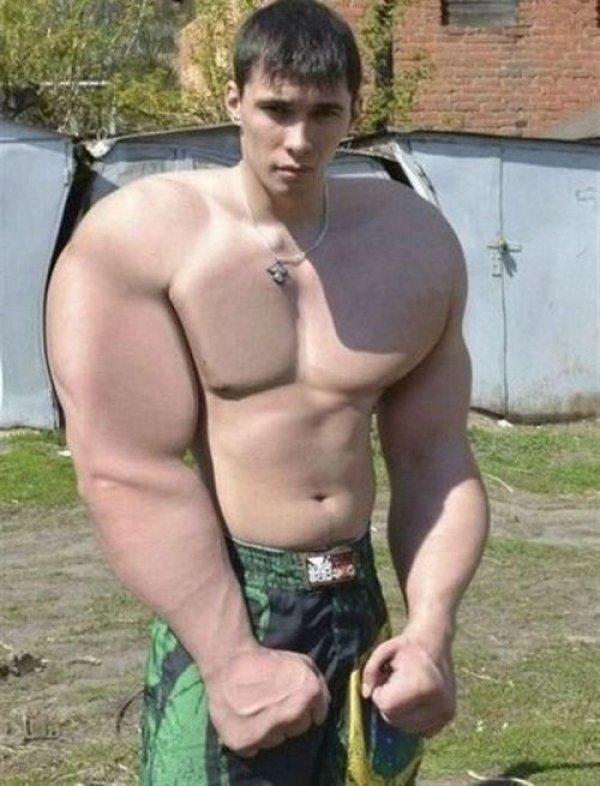 Truyền nhân của The Hulk đây chăng?