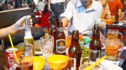 Lượng tiêu thụ bia trong tháng Tết tăng cao - Ảnh minh họa (Nguồn: Internet)