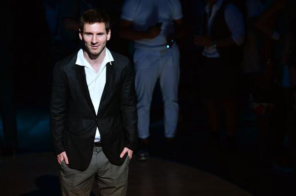 Messi ở vị trí thứ 2 trong bảng xếp hạng.