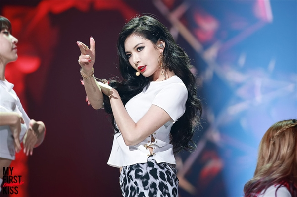 HyunA lột xác thành công với hình tượng sexy.