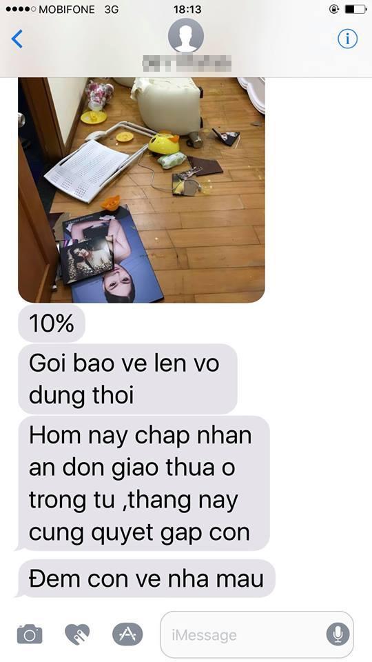 Bảo Duy đập phá đồ đạc trong nhà Phi Thanh Vân để buộc cô đưa con trai về nhà cho anh gặp mặt. - Tin sao Viet - Tin tuc sao Viet - Scandal sao Viet - Tin tuc cua Sao - Tin cua Sao