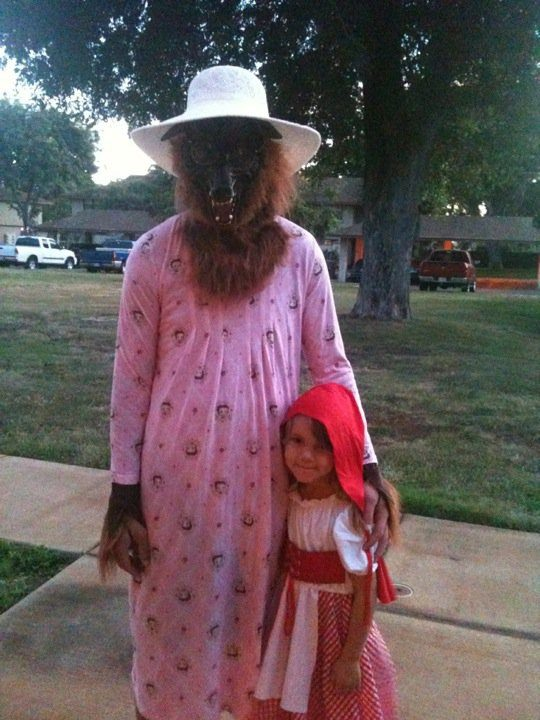 Halloween không bao giờ chán cùng con gái.
