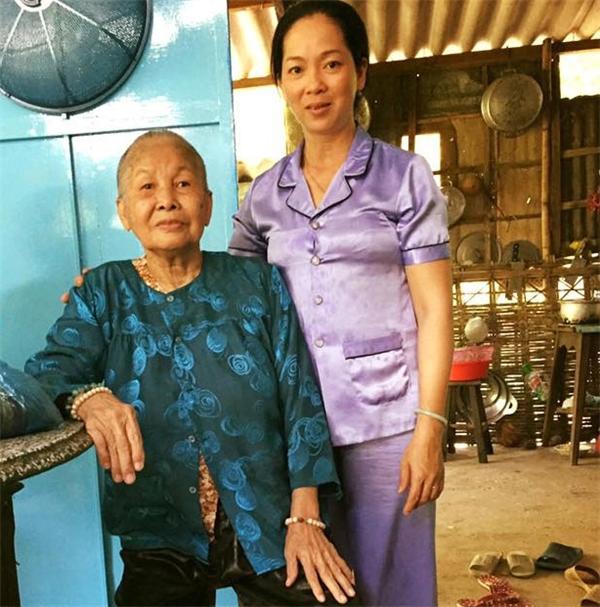 Mẹ và bà cô của Chí Cảnh.