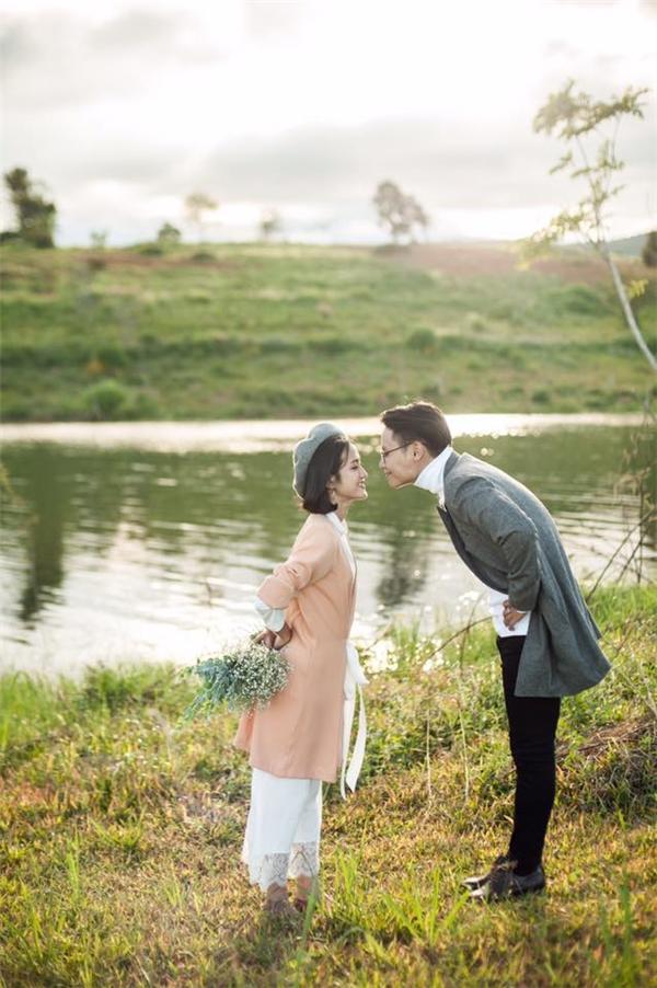 Triệu like cho bộ ảnh cưới bên vườn rau xinh muốn xỉu của cặp đôi 9x