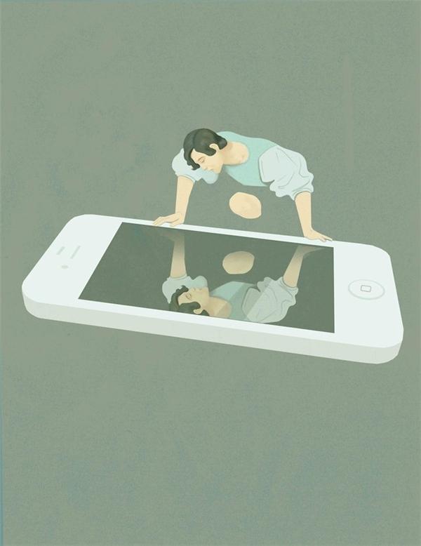 Liệu bạn có nhìn thấy chính bạn trong chiếc smartphone.