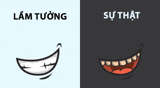 Một hàm răng khỏe mạnh không hẳn phải trắng tinh hoàn hảo. Bởi trên thực tế, màu vàng nhẹ mới là màu tự nhiên của răng.