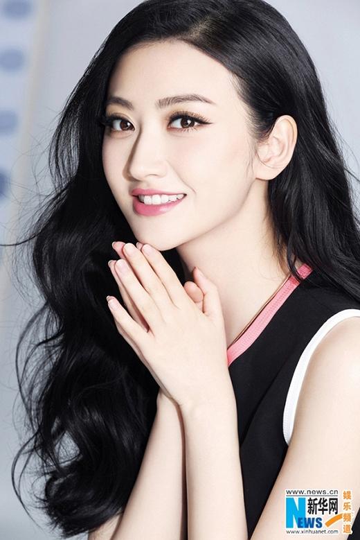 """Được mệnh danh là """"Đệ nhất mỹ nữ Bắc Kinh"""", người đẹp Cảnh Điềm quay lại màn ảnh nhỏ với vai diễn chính trong phim Đại Đường vinh diệu."""