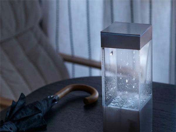 Thiết bị dự báo thời tiết bằng hình ảnh trực quan: Với tên gọi Tempescope, thiết bị này sẽ giúp bạn biết được thời tiết vào ngày hôm sau sẽ như thế nào bằng những hình ảnh sống động như thật. Chẳng hạn nếu ngày mai có mưa, bên trong chiếc hộp sẽ có mưa rơi; nếu ngày mai có bão, bên trong hộp sẽ có sấm chớp chói lòa…