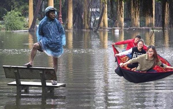 Chúng tôi cần bay chứ không cần bơi nhé.