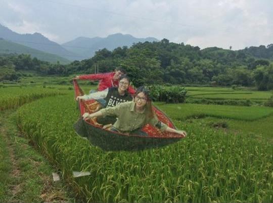 Thôi về đồng bằng, ruộng lúa mà bay cho an toàn anh em ạ.
