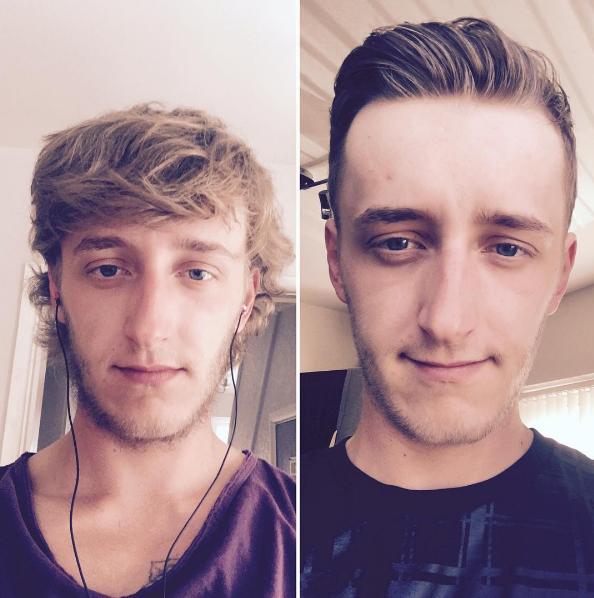 Với những chàng trai thường xuyên không chú ý đến đầu tóc, cậu bạn này sẽ là tấm gương đáng học hỏi đấy.