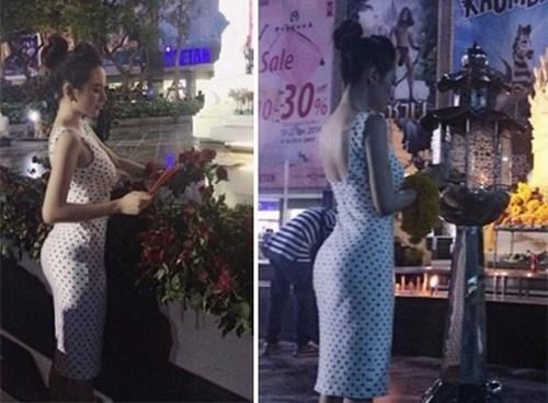 """Người đẹp Angela Phương Trinh từng có thời gian bị dư luận """"ném đá"""" vì diện trang phục không phù hợp ở nơi tôn nghiêm."""
