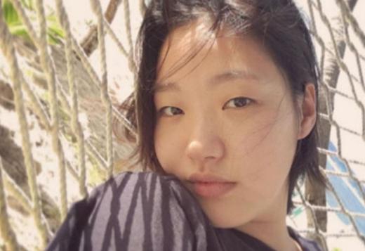 Bức hình mà Go Eun bị chê xấu và đã xóa đi.