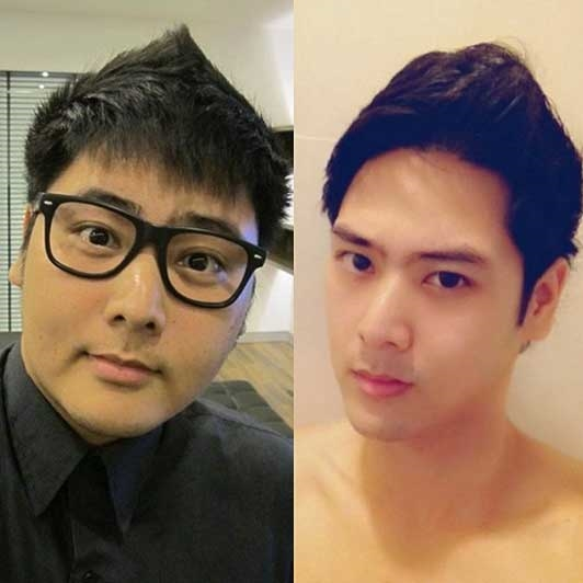 """""""Vứt đi"""" vài kí lô mỡ thừa thôi là đã đẹp trai như người mẫu, diễn viên Hàn Quốc rồi."""