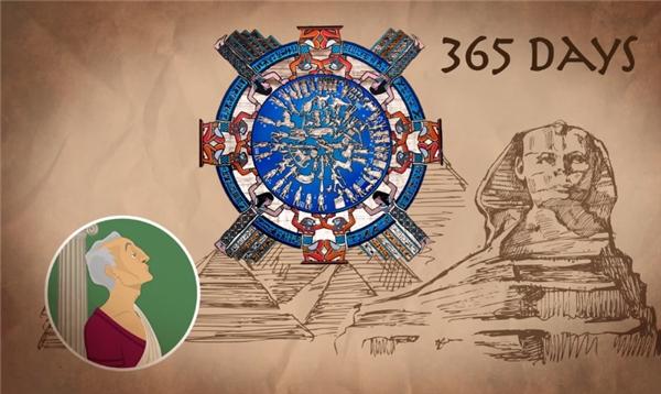 Vì dành nhiều thời gian sinh sống tại Ai Cập, nơi người ta áp dụng bộ lịch 365 ngày tính theo mặt trời, nên đến khi lên nắm quyền tại La Mã vào năm 46 trước CN, ông cho bãi bỏ bộ lịch mặt trăng cũ và rắc rối kia đi, và áp dụng một bộ lịch mới tính theo mặt trời.