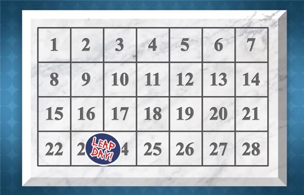 Và vì cứ 4 năm lại có một năm có nhiều hơn 365 ngày, nên cứ 4 năm ông lại chèn thêm một ngày nhuận vào sau ngày 23 tháng Hai để tháng này có 29 ngày và một năm có 366 ngày, được gọi là năm nhuận. Bộ lịch này được giữ nguyên cho đến ngày hôm nay.