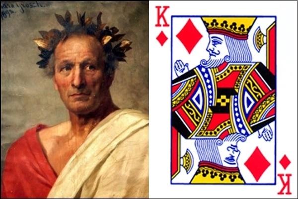 K rô là Gaius Julius Caesar.