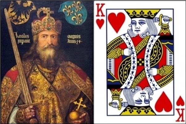 K cơ là Charlemagne Charles Đại đế.